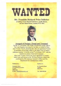 WANTED: Richard Price