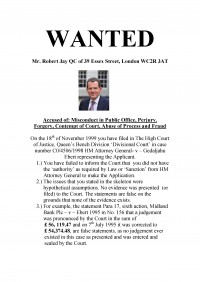WANTED: Robert Jay QC