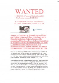 WANTED: HSBC